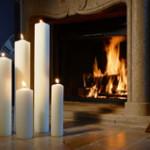 """Des bougies de décoration """"tendance"""""""