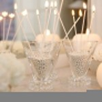 Un cadeau utile : la bougie chauffe plat coque transparente