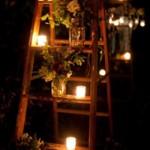 Une déco parfaite avec des bougies d'extérieur